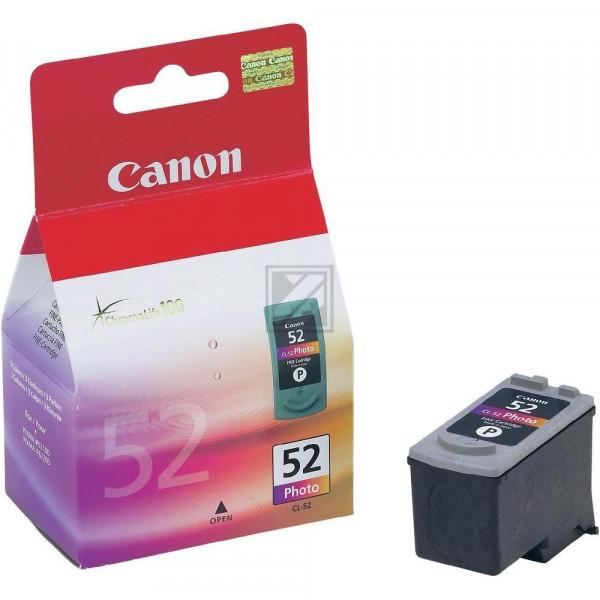 Canon Tintenpatrone Photo-Tinte farbig (0619B001, CL-52)