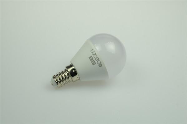 E14 LED-Globe LB45 AC/DC 250 Lumen 130° warmweiss 4W Green-Power-LED