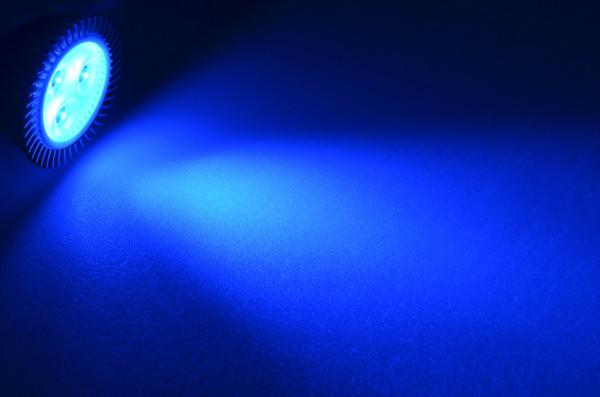 GU5.3 LED-Spot PAR16 DC 44 Lumen 30° Blau 3,3 W Green-Power-LED