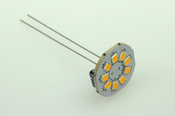 GZ4 LED-Modul AC/DC 120 Lumen 125° warmweiss 1,5W dimmbar, 60mm Pins Green-Power-LED